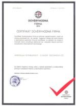 Certifikát důvěryhodnosti