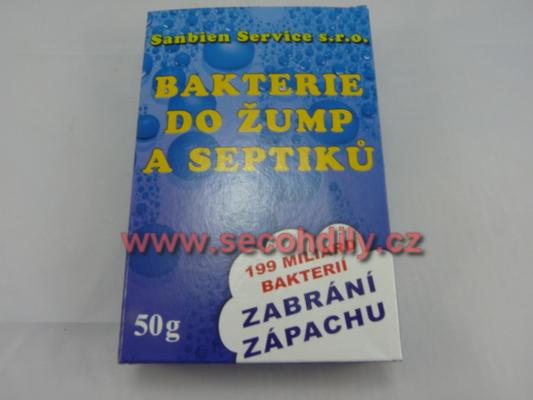 Bakterie do žump a septiků