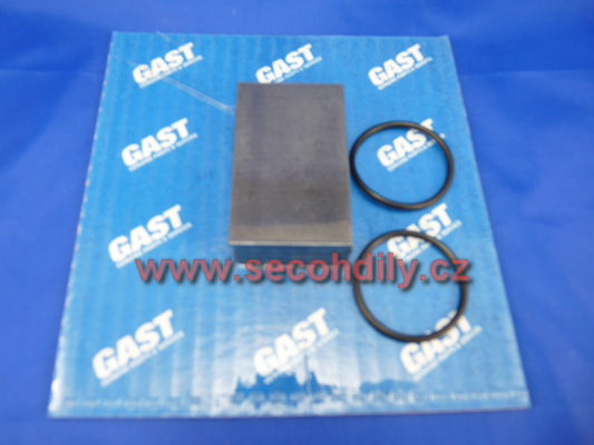 Sada náhradních dílů pro lamelový kompresor-vývěvu GAST 1023