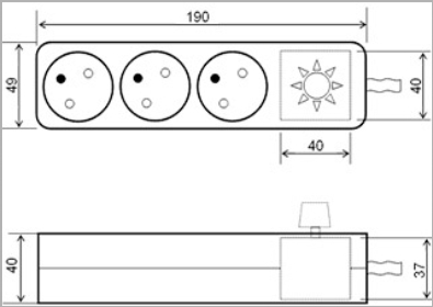 Regulátor výkonu 350W – typ MJ 01